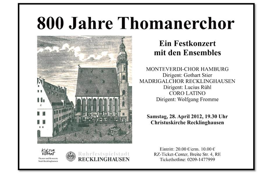 thomanerchor 2012