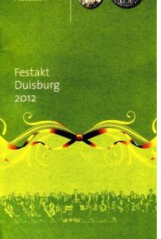 Verleihung  der Zelterplakette in Duisburg-Rheinhausen 2012