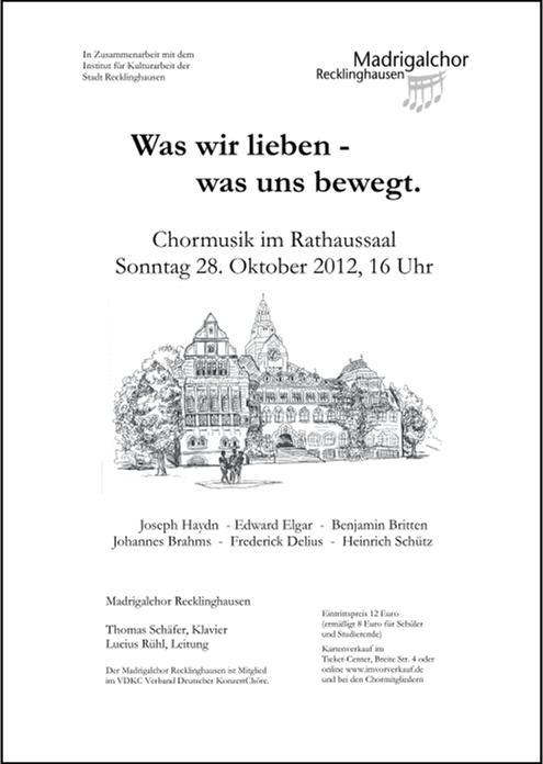 plakat herbstkonzert 2012